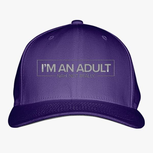 Cheap Custom Hats about Adulthood